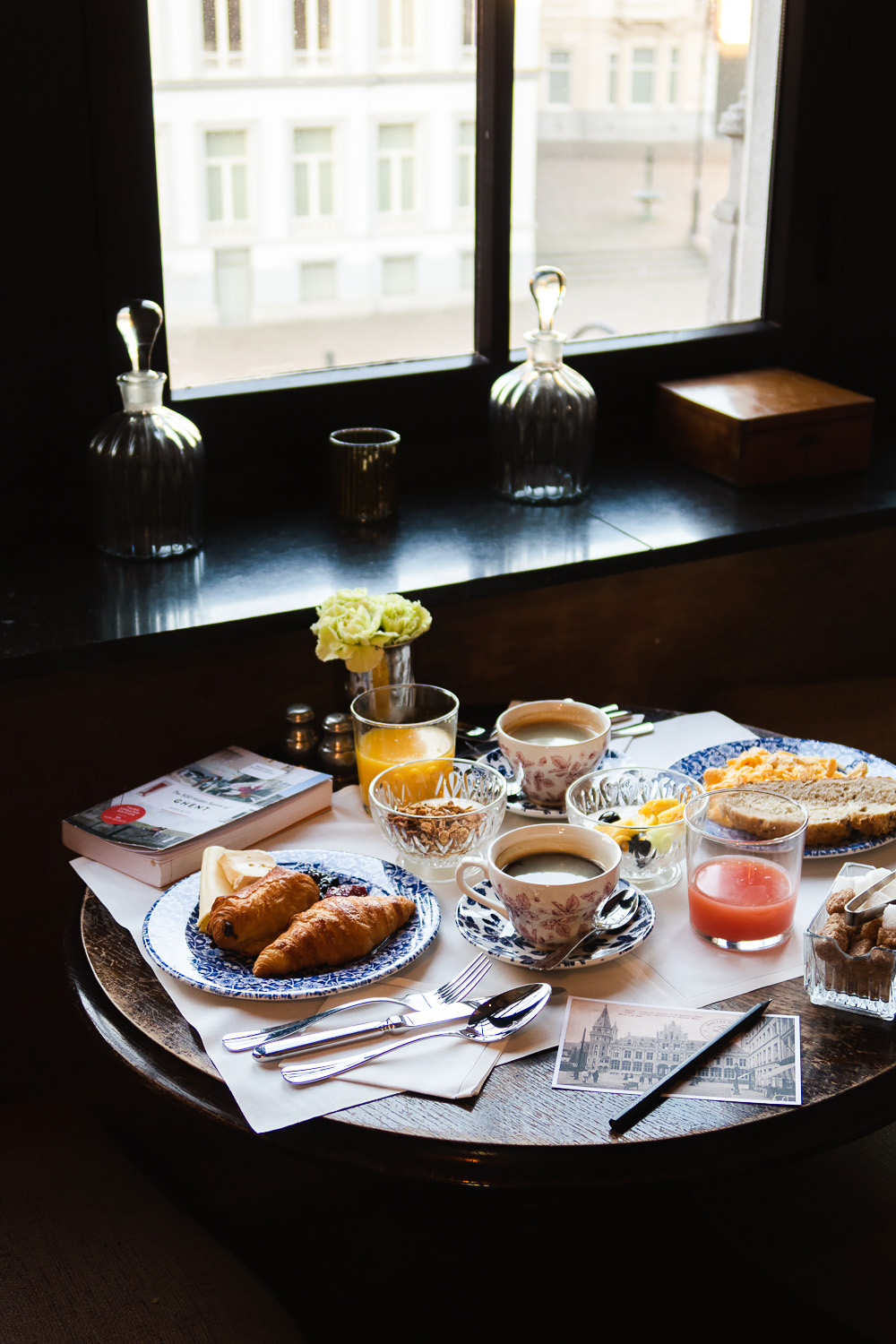 Breakfast at 1898 The Post Hotel | How To Spend a Long Weekend in Ghent, Belgium | Mondomulia