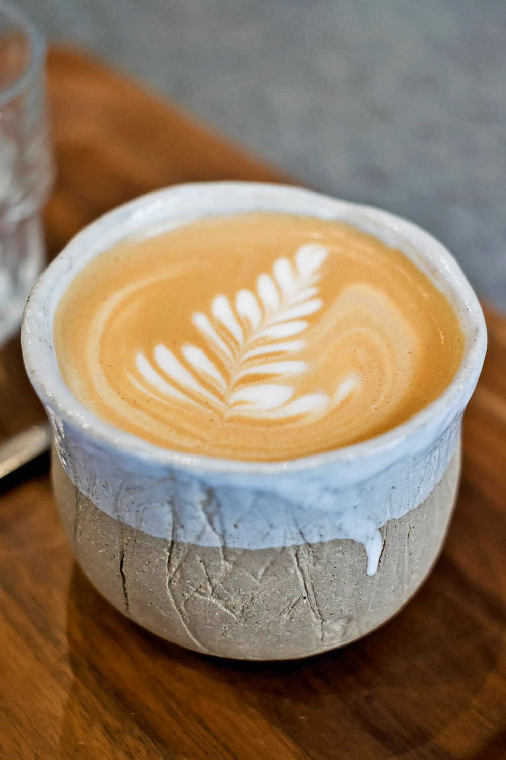 Flat White at Tab x Tab, an independent coffee shop in Westbourne Grove London