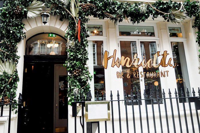 A delicious dinner at Henrietta Bistro in Covent Garden | Mondomulia