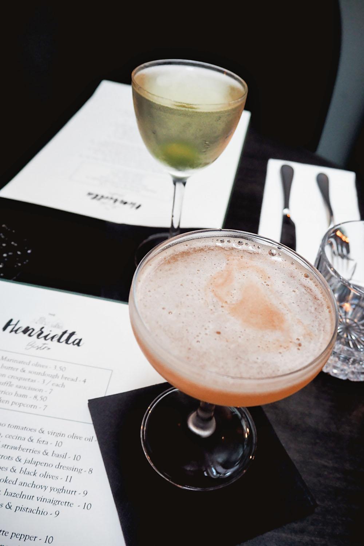 A delicious dinner in Covent Garden at Henrietta Bistro, the new French / Basque restaurant of luxury boutique hotel Henrietta.