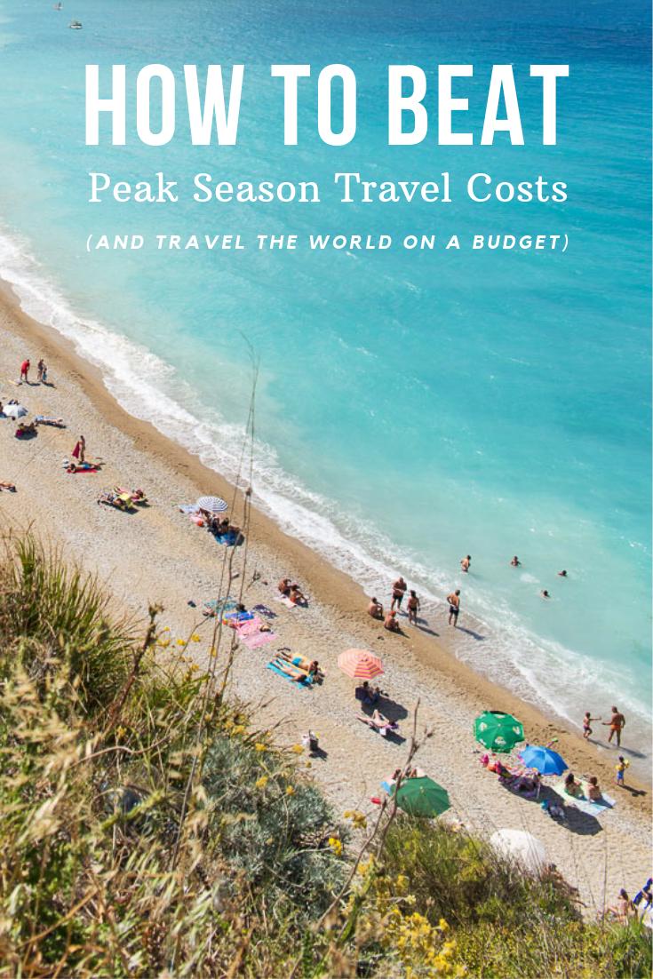 How To Beat Peak Season Travel Costs