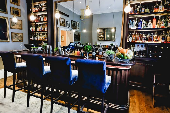 The Hyde Bar at Roseate House London, a luxury boutique hotel with 48 rooms and suites across three connecting Grade-II townhouses in Westbourne Terrace | Mondomulia