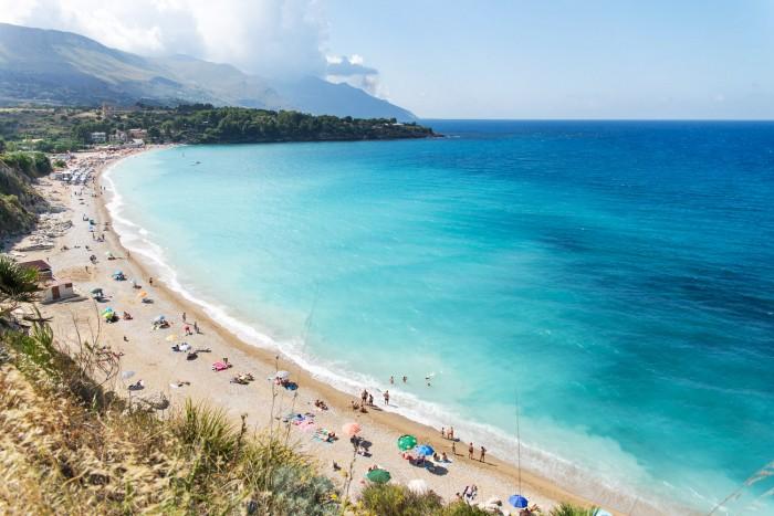 Spiaggia Guidaloca in Scopello, Western Sicily