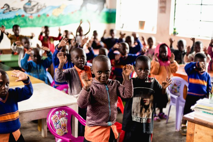 The Porridge Project provides free of cost, nutritional porridge to young school children in Rwanda