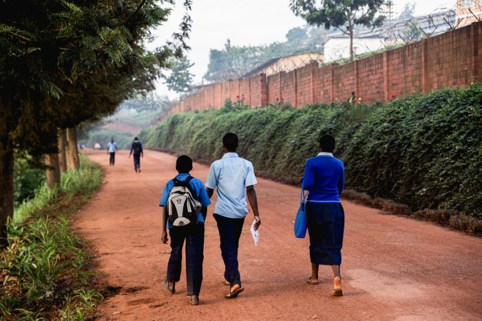 Sorwathe tea factory and estate are located in Kinihira northern Rwanda