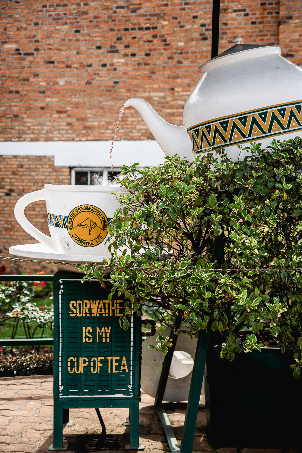 Sorwathe Tea Factory and Estate are located in Kinihira, northern Rwanda