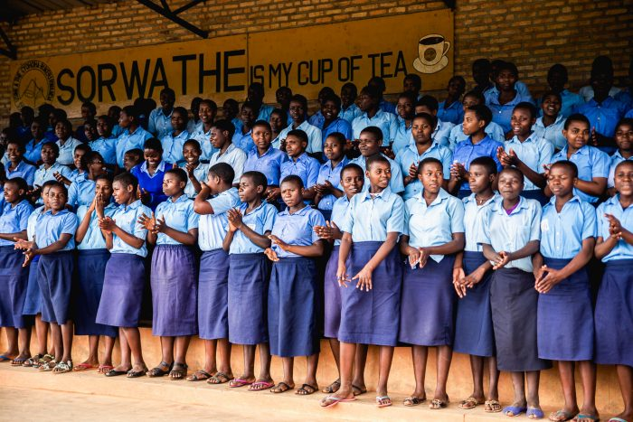 Sorwathe School in Kinihira, Rwanda