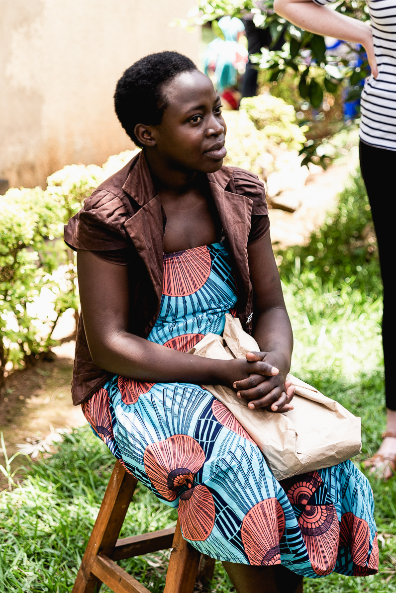 Valeria one of the women attending Women for Women year-long training programme in Rwanda