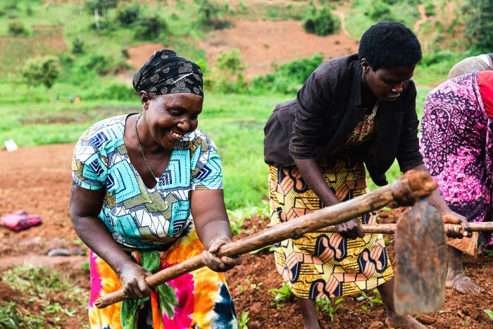 Through year-long programmes, Women for Women International provide women living in war-torn countries with the tools to help them choose their own future and rebuild their lives | Women's Opportunity Center in Rwanda