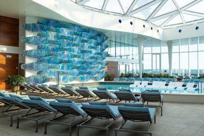 The Solarium | 12 reasons to choose Celebrity Edge for your next cruise | Mondomulia
