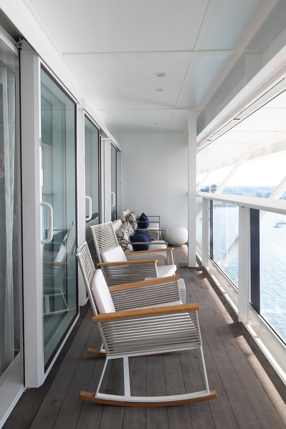 Balcony in one of the penthouse suites | 12 reasons to choose Celebrity Edge for your next cruise | Mondomulia