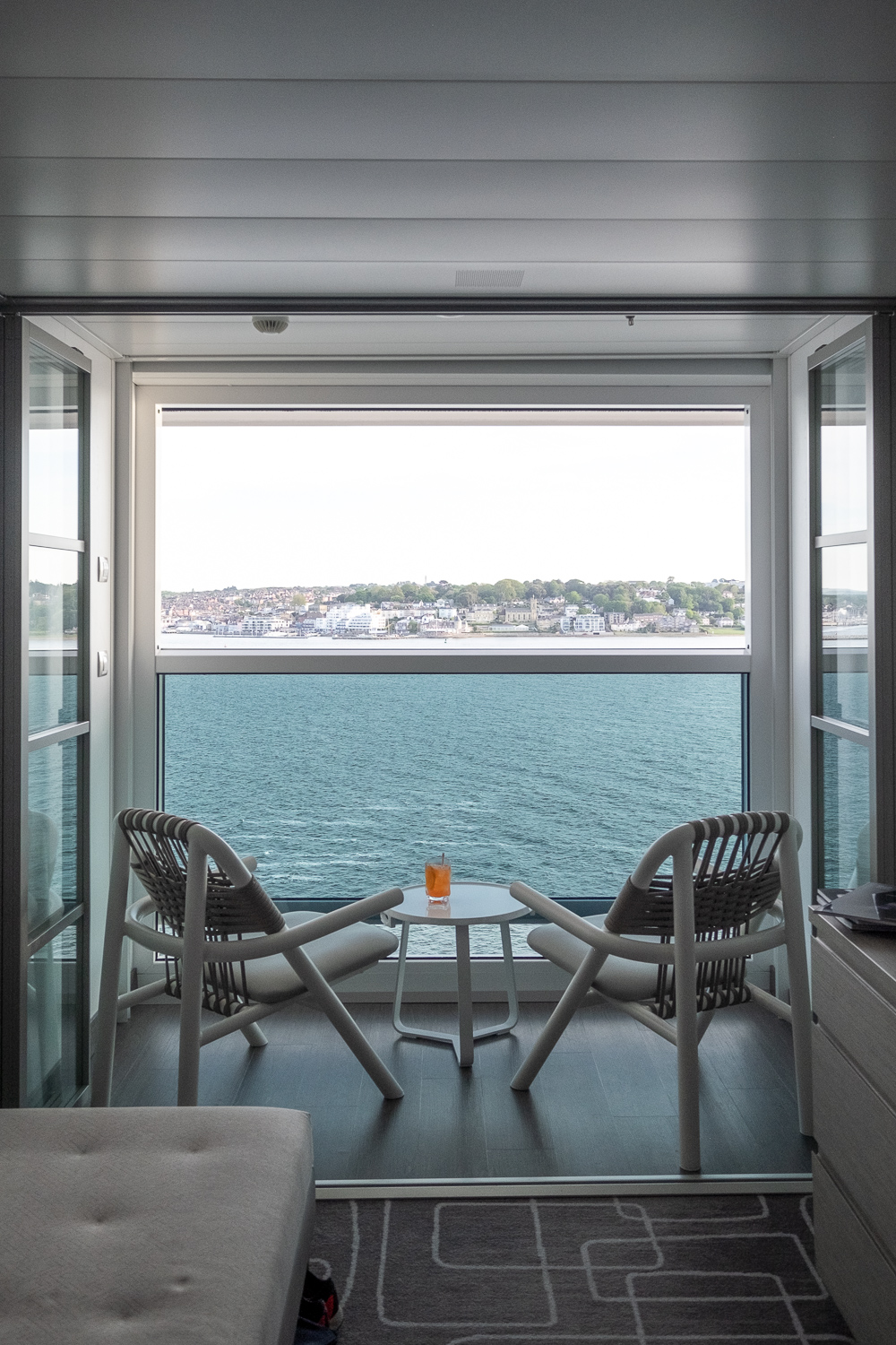 The stateroom's veranda | 12 reasons to choose Celebrity Edge for your next cruise | Mondomulia