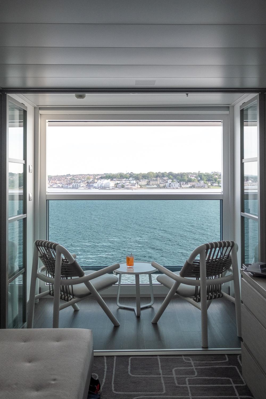 The stateroom's veranda | 12 reasons to choose Celebrity Edge for your next cruise | Mondomulia