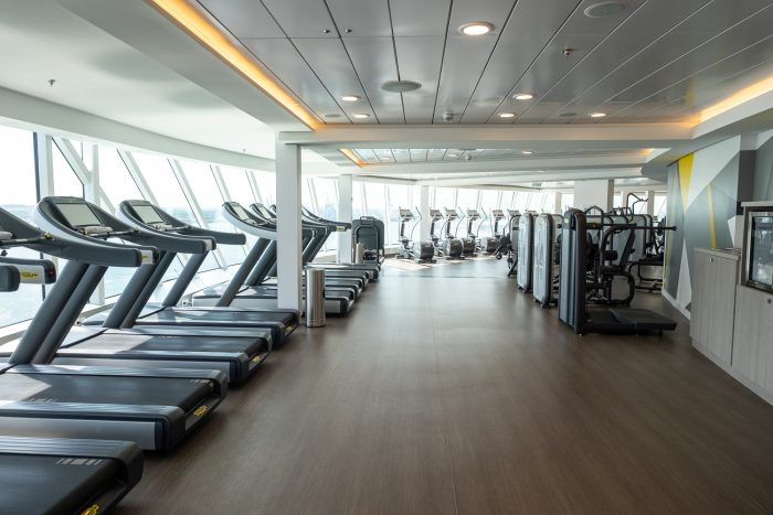 The Fitness Centre | 12 reasons to choose Celebrity Edge for your next cruise | Mondomulia