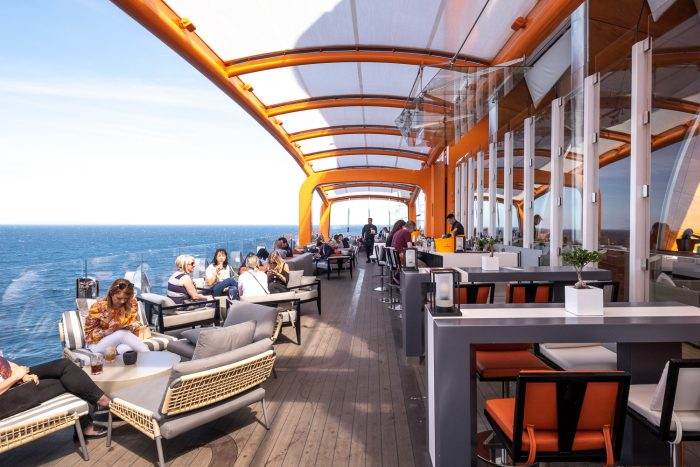 The Magic Carpet | 12 reasons to choose Celebrity Edge for your next cruise | Mondomulia