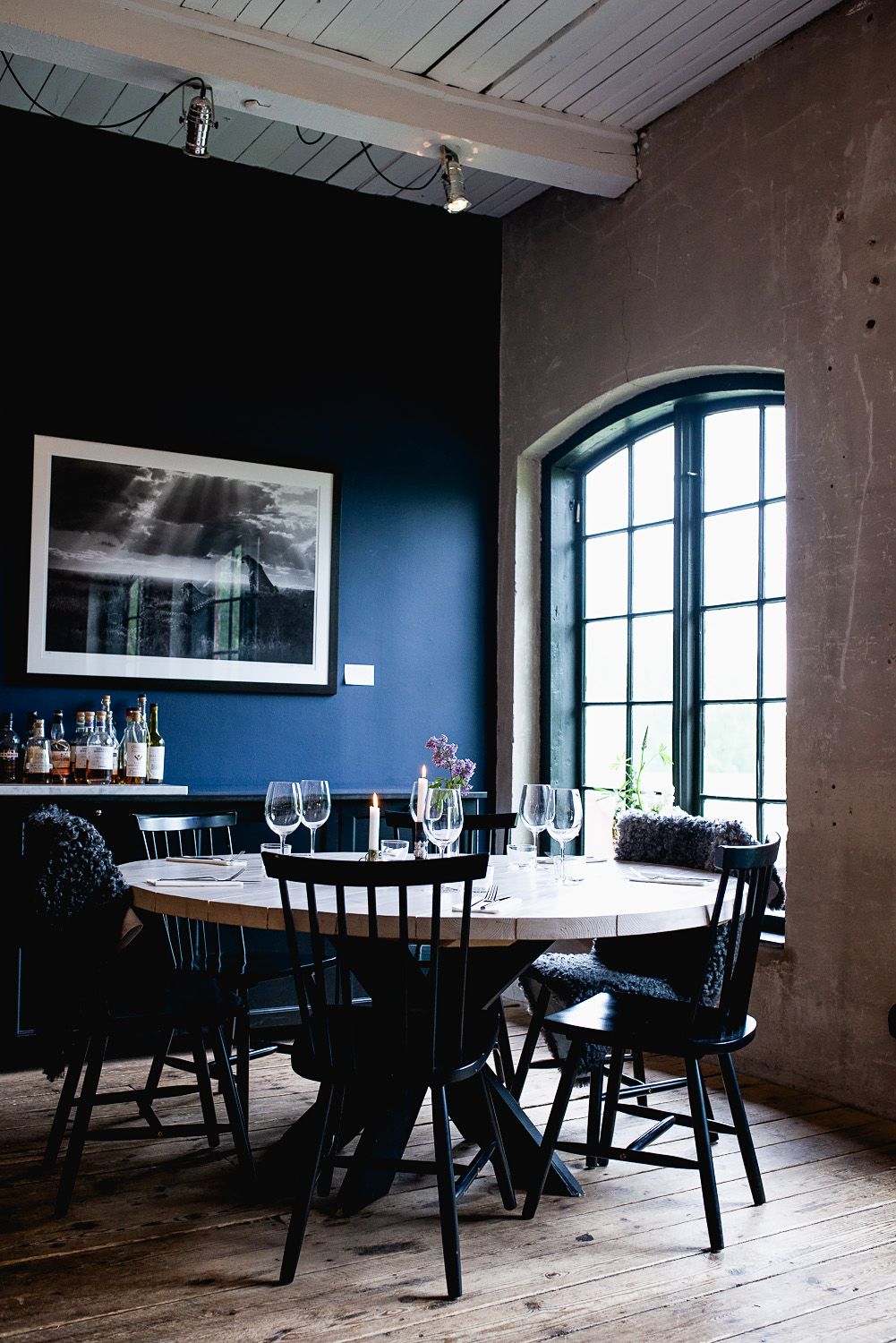 Sliperiet is an Art Gallery and fine dining restaurant in Borgvik, in the heart of Varmland, west Sweden #mondomulia