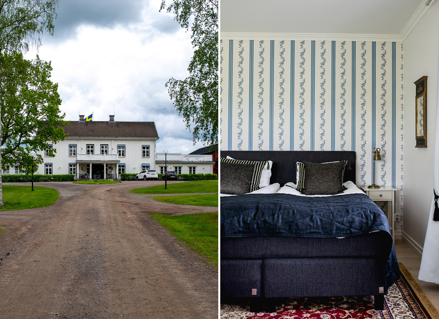 Ulvsby Herrgård, a stunning manor house with hotel and restaurant in Sunne - Varmland, Sweden | Mondomulia