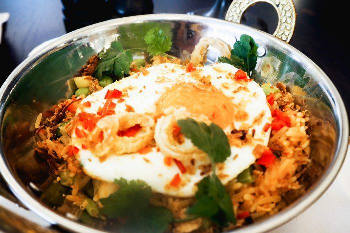 Egg Shakshuka for brunch at 34 Mayfair, a modern grill restaurant in central London