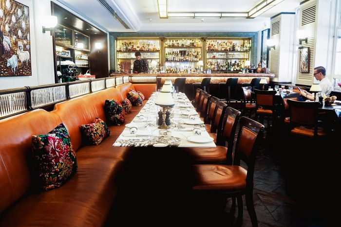34 Mayfair is a modern grill restaurant in central London