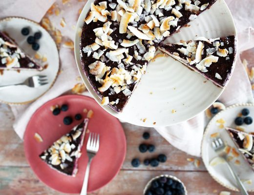 No-Bake Vegan Blueberry Cheesecake   Mondomulia
