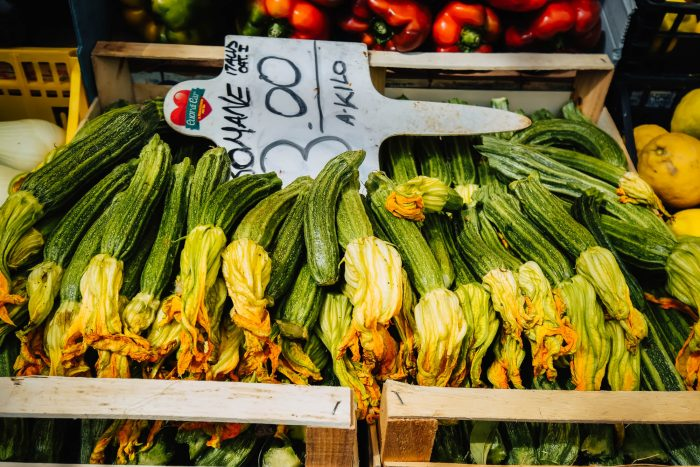 Fiori di Zucca | Testaccio Neighbourhood Food and Market Tour in Rome with Devour Tours | Mondomulia