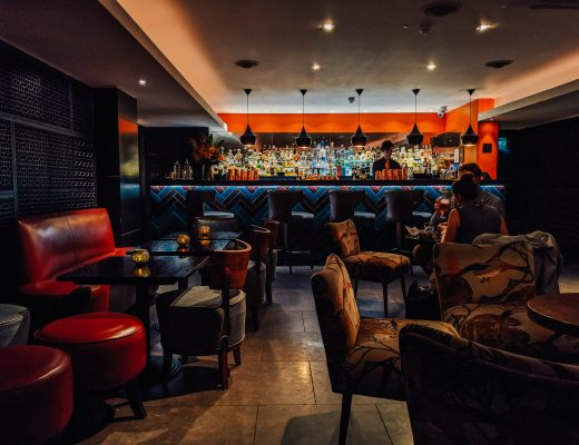 The lounge bar at Benares in Mayfair London