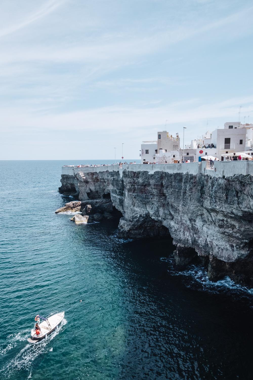 Spiaggia di Cala Porto, Polignano a Mare, Puglia   A 7-day Road Trip Through Puglia and Matera   Mondomulia