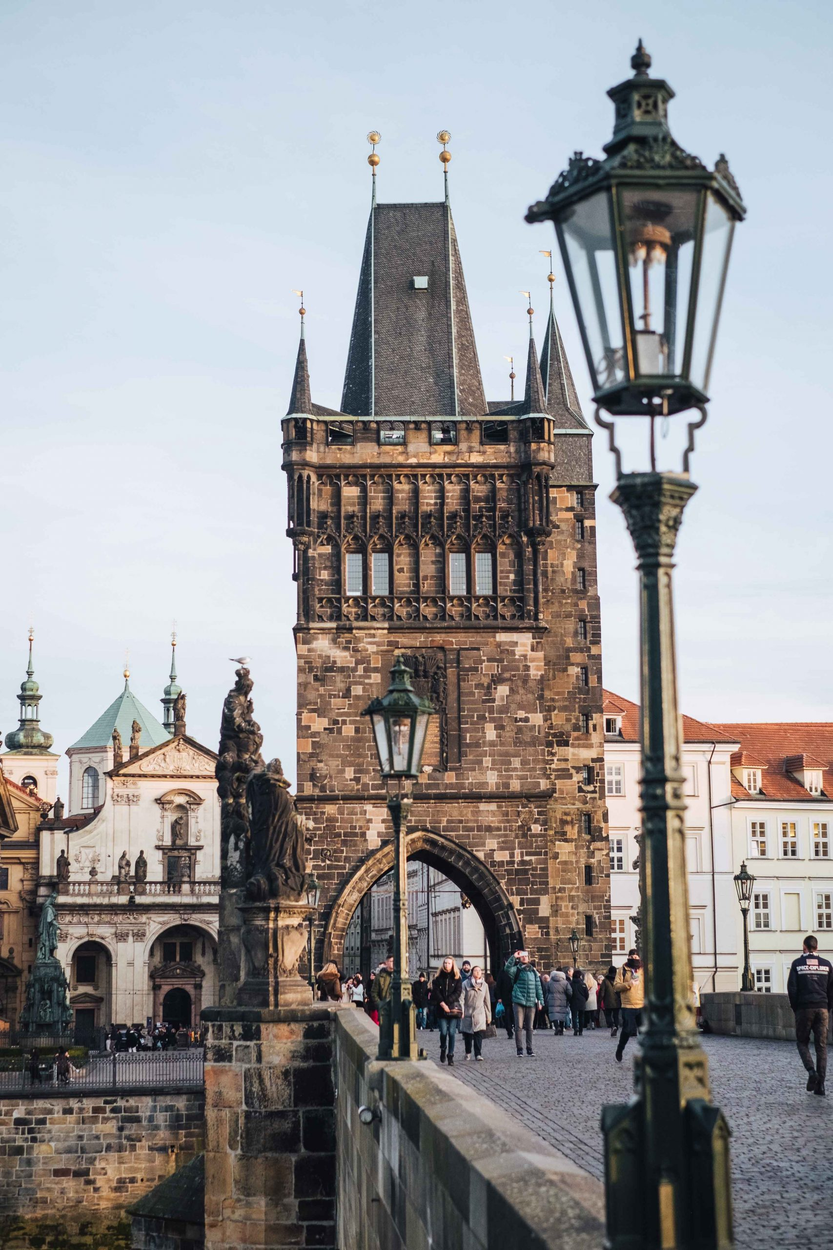 The old Charles Bridge and the old town bridge tower, in Prague, Czech Republic | Mondomulia