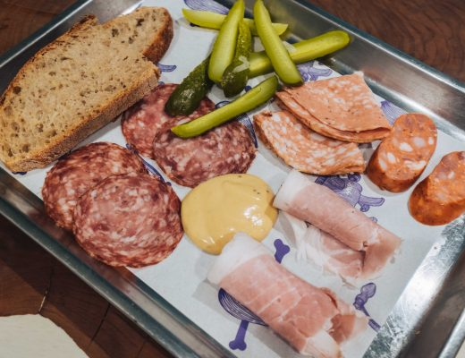 Charcuterie platter from Naše maso butchery shop in Pasaz Dlouhá   A Food and Speciality Coffee Guide of Prague by Mondomulia