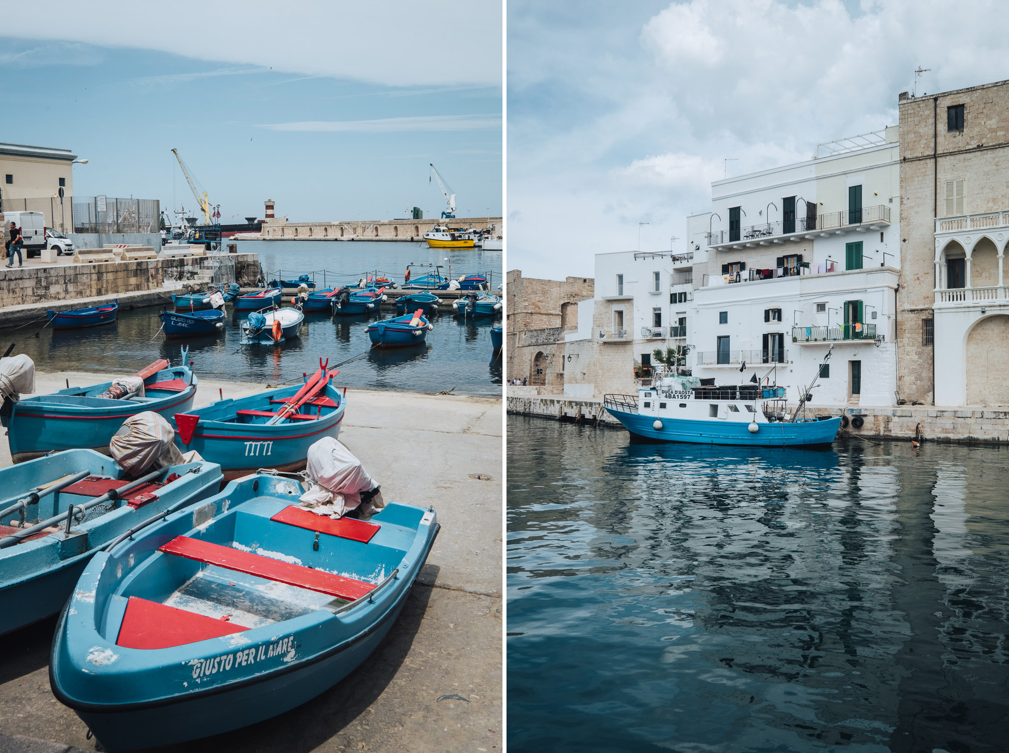 The old port of Monopoli   A 7-day Road Trip Through Puglia and Matera   Mondomulia