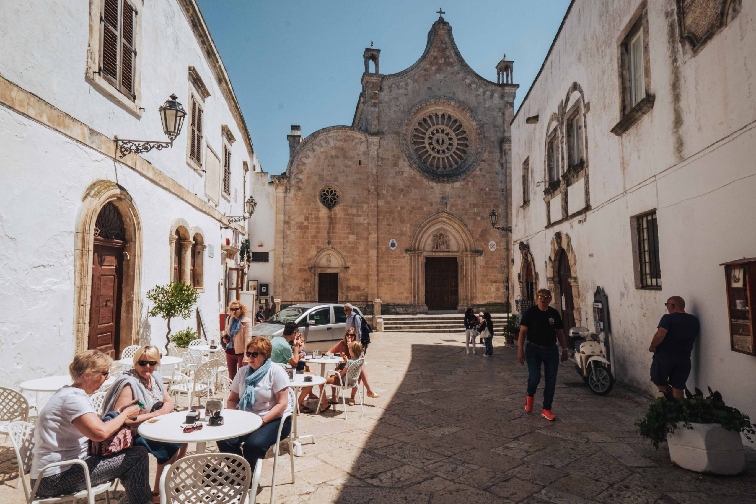 Ostuni, dubbed the Città Bianca (White City) is a UNESCO World Heritage Site | A 7-day Road Trip Through Puglia | Mondomulia