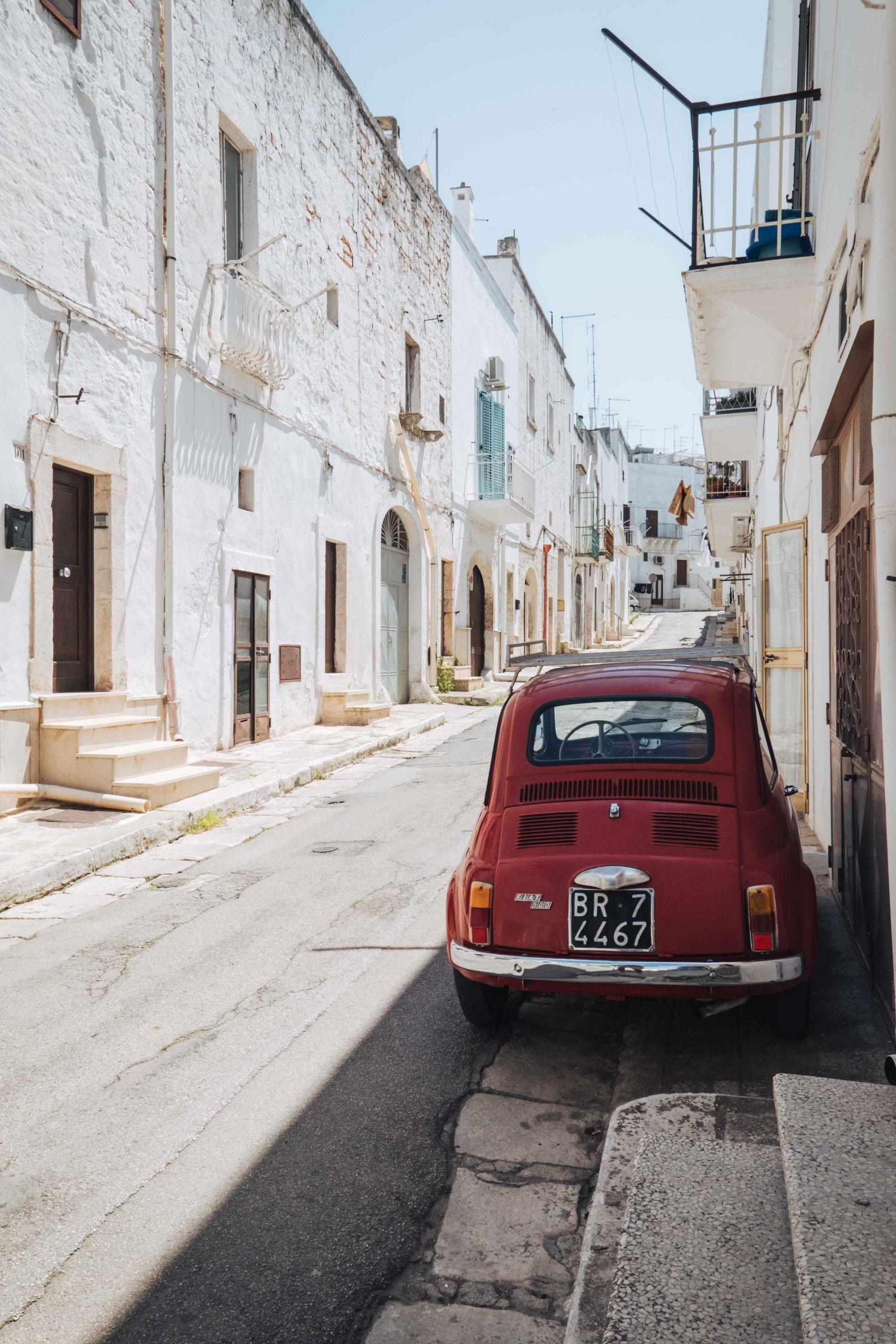 Ostuni, dubbed the Città Bianca (White City) is a UNESCO World Heritage Site | A 7-day Road Trip Through Puglia | Mondomulia
