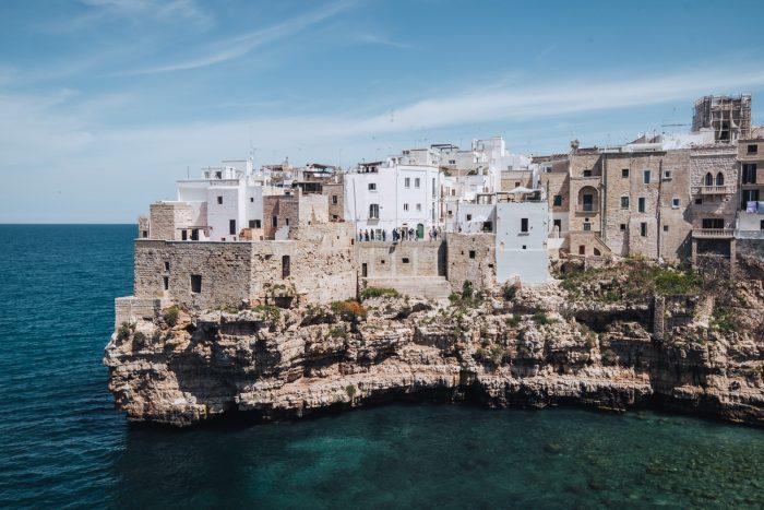 A view of the old town of Polignano a Mare, Puglia   A 7-day Road Trip Through Puglia and Matera   Mondomulia