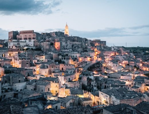 Sassi di Matera at night | Basilicata, Italy