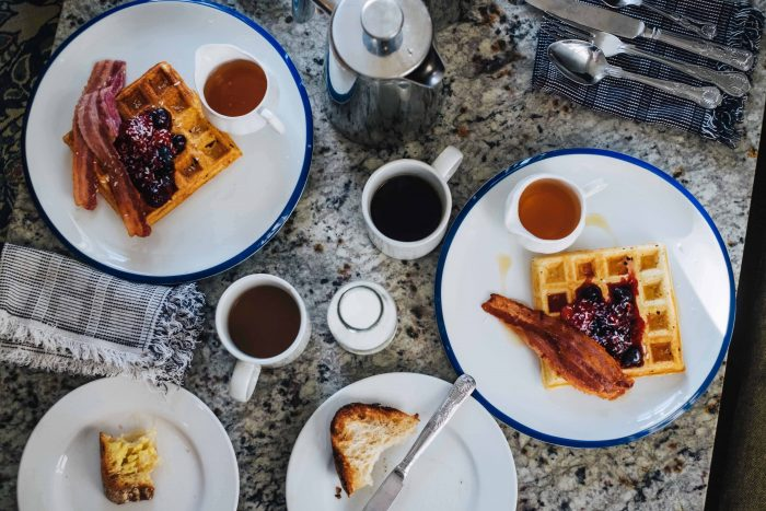 Breakfast at Brownber Hall, a boutique guesthouse in Cumbria, north-west England | Mondomulia