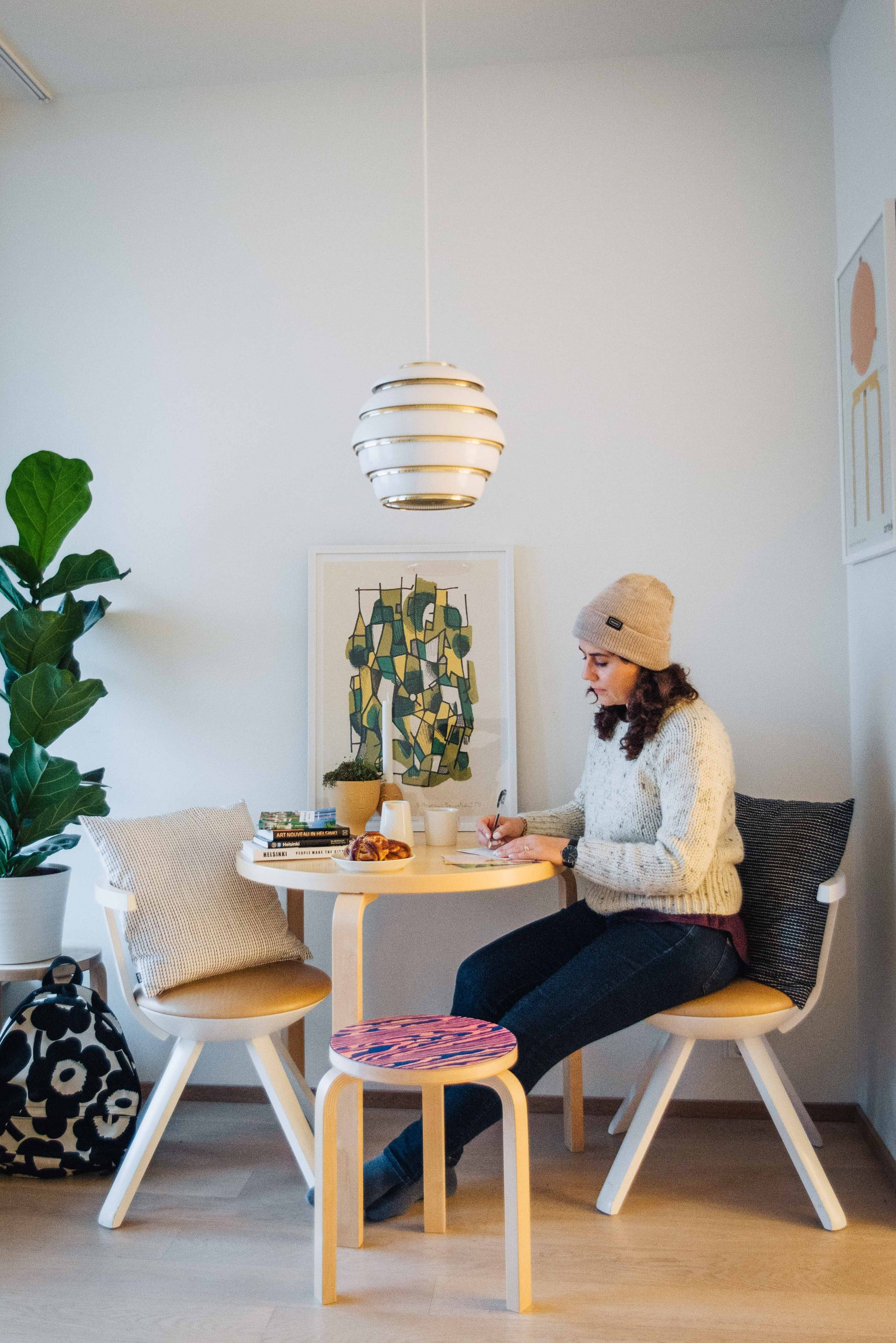 Studio apartment at Aallonkoti Hotel Apartments in Helsinki | What to do in Helsinki in winter by Mondomulia