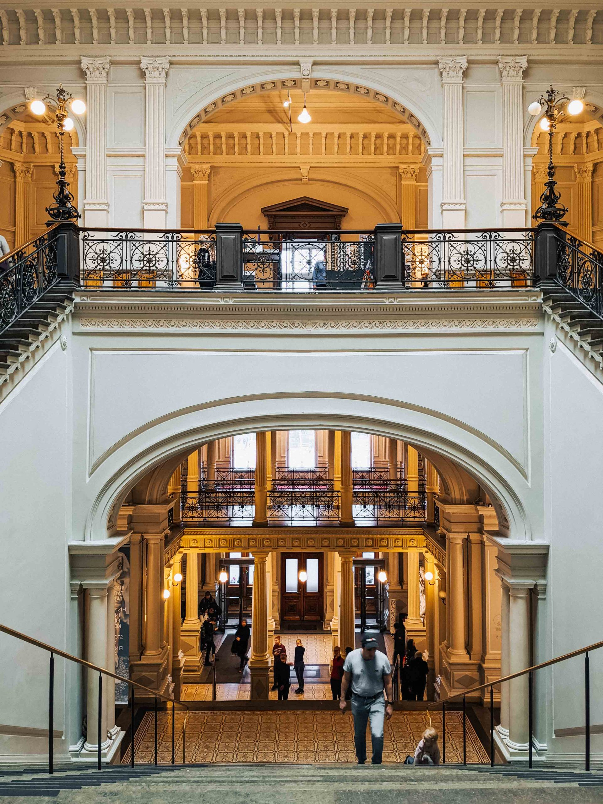 Ateneum art museum of Helsinki | What to do in Helsinki in winter by Mondomulia