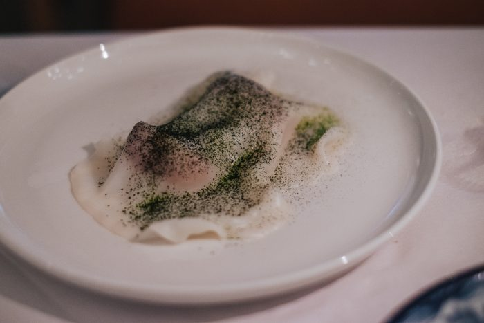 Aquavit, a Michelin-starred restaurant in St. James's Market, London