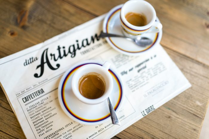 Ditta Artigianale speciality coffee shop in Florence