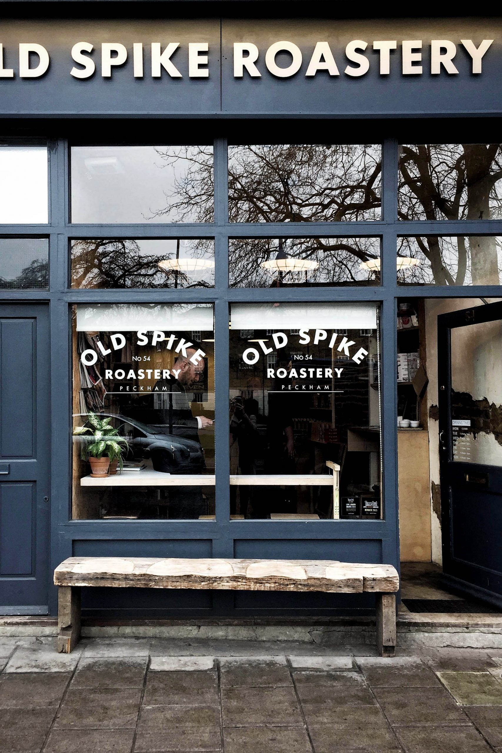 Old Spike is a south east London coffee roaster/café that is also a social enterprise helping the homeless