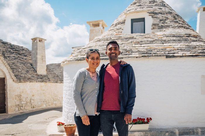 Trulli in the Unesco World Heritage Site of Alberobello in Publia