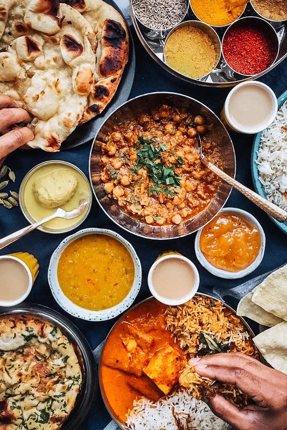 Indian food delivered to your home by Motu Indian Kitchen in London