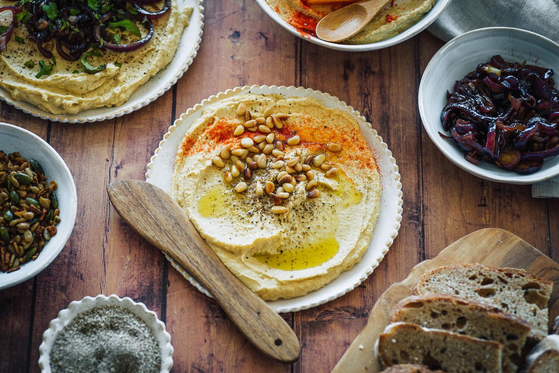 How to make homemade hummus (from Taverna cookbook by Georgina Hayden)