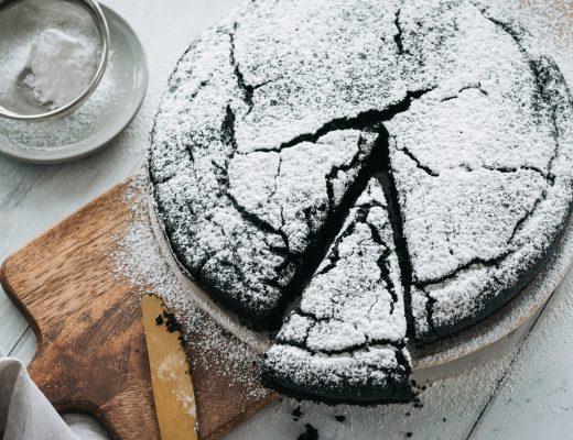 Vegan Dark Chocolate Cake - Eggless and Dairy Free   Mondomulia