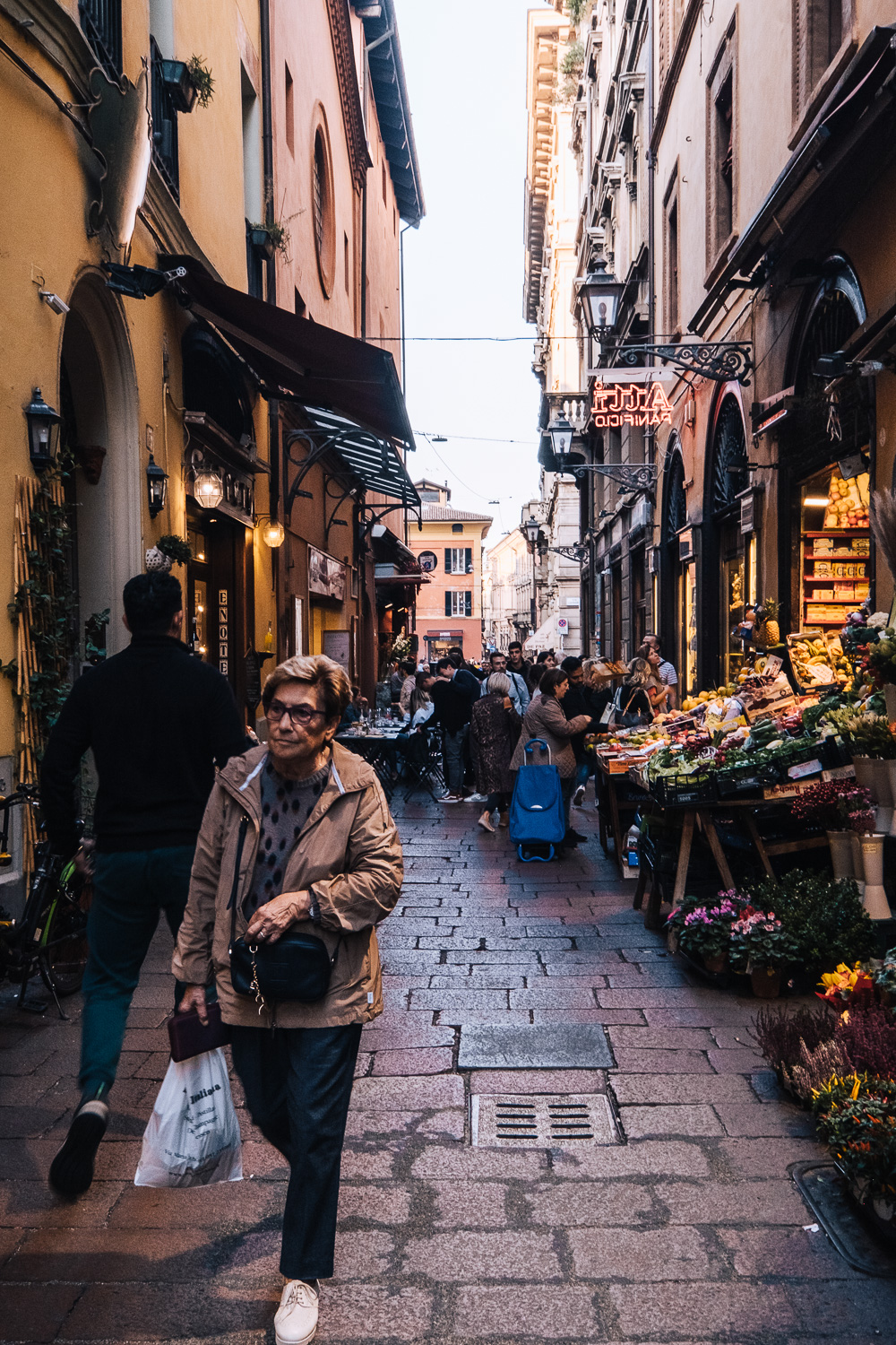 The Quadrilatero neighbourhood and old food market in Bologna | Six Beautiful Places you Must Visit in Emilia Romagna | Mondomulia