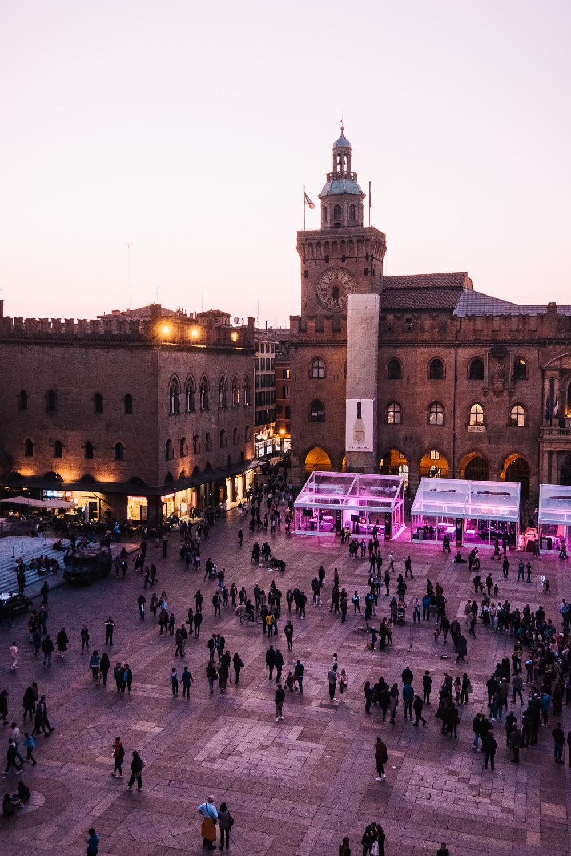 Piazza Maggiore is Bologna's main public square | Six Beautiful Places you Must Visit in Emilia Romagna | Mondomulia