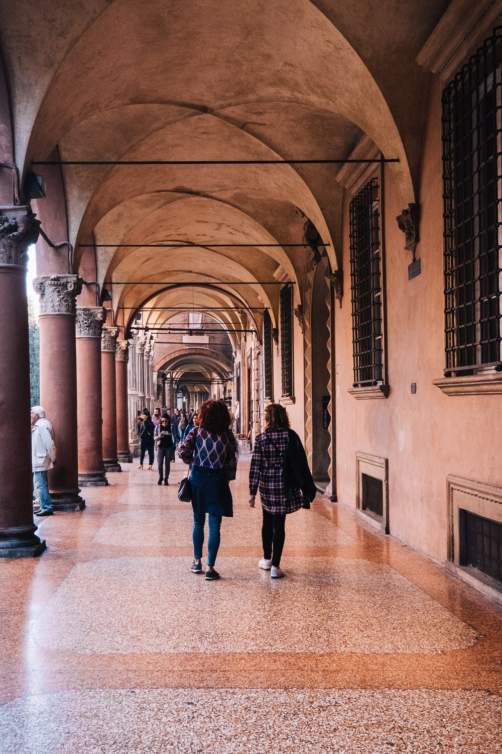 Bologna's historic centre has 38 km of porticoes, medieval covered archways | Six Beautiful Places you Must Visit in Emilia Romagna | Mondomulia