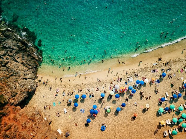 Damlatas and Cleopatra Beach, Antalya, Turkey