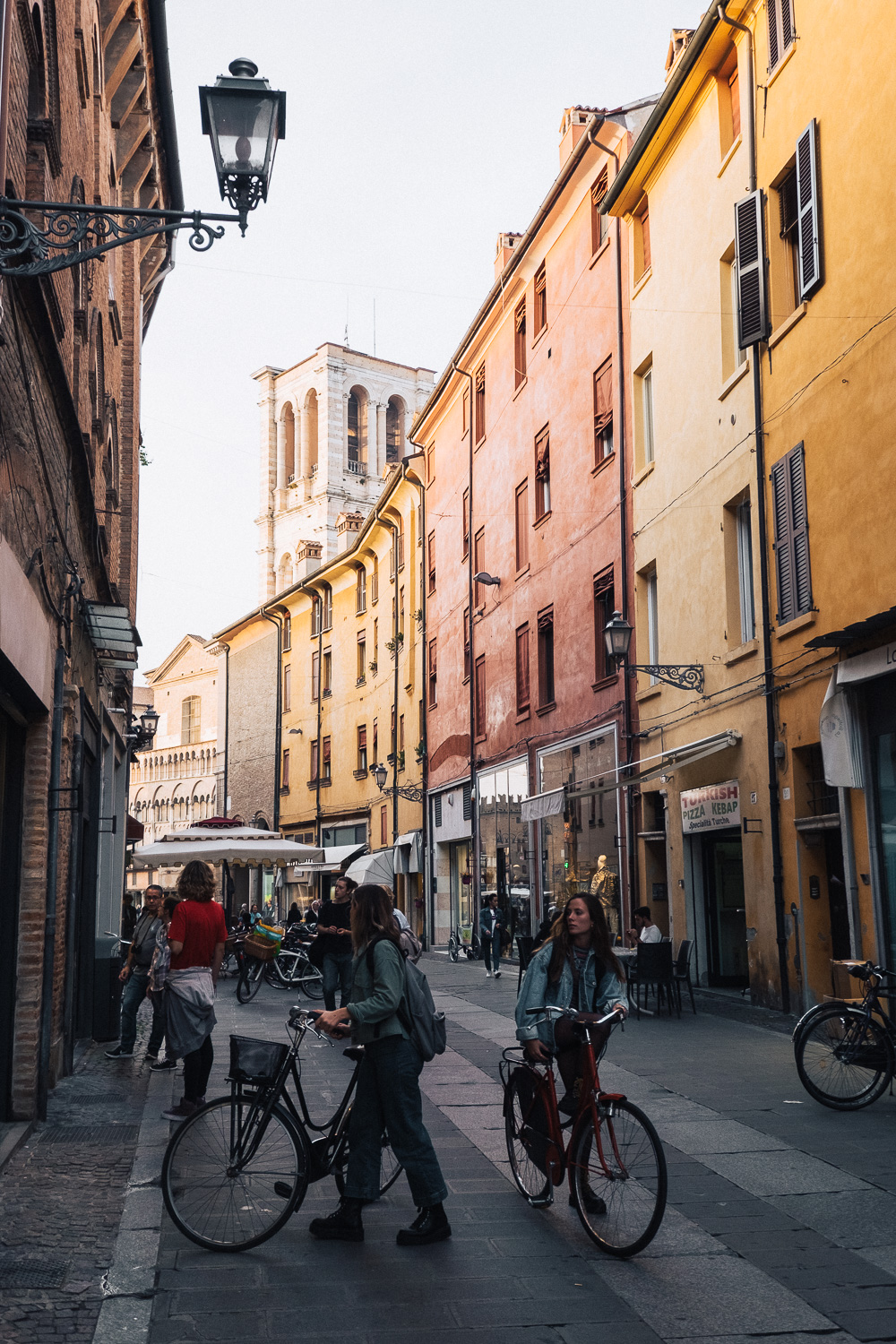Ferrara is known as the city of bicycles   Six Beautiful Towns you Must Visit in Emilia Romagna   Mondomulia