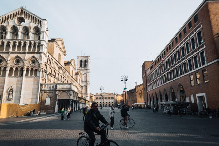 Ferrara is known as the city of bicycles | Six Beautiful Towns you Must Visit in Emilia Romagna | Mondomulia